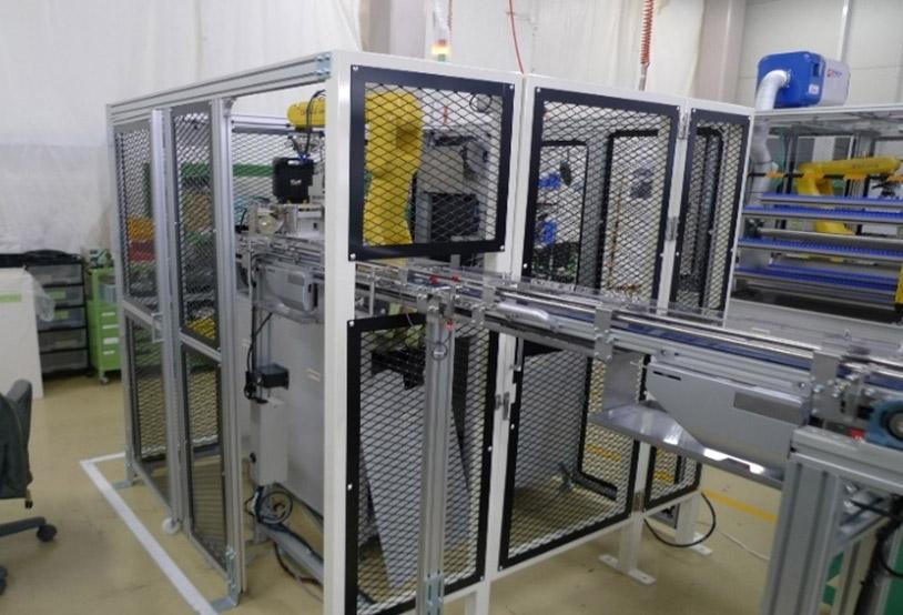 インライン製品形状測定装置